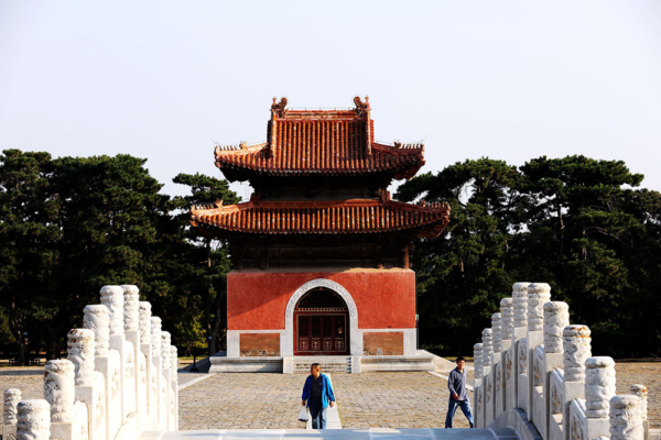 Cloisonné factory and Ming Tombs